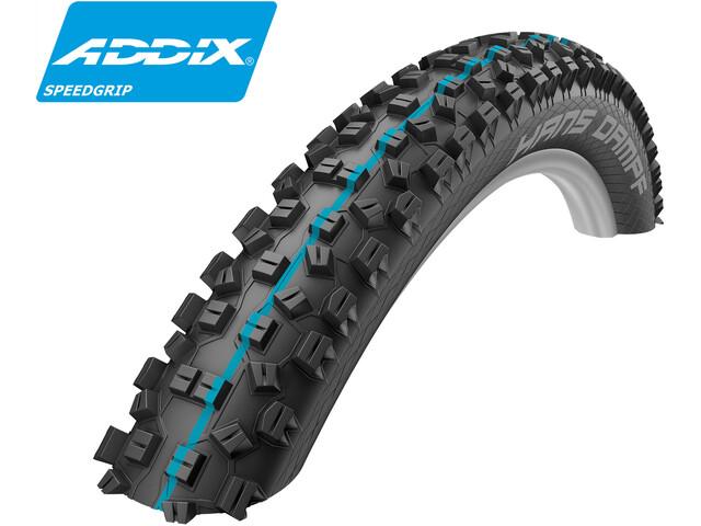 "SCHWALBE Hans Dampf Folding Tyre 26"" Addix Speedgrip SnakeSkin TL-Easy"